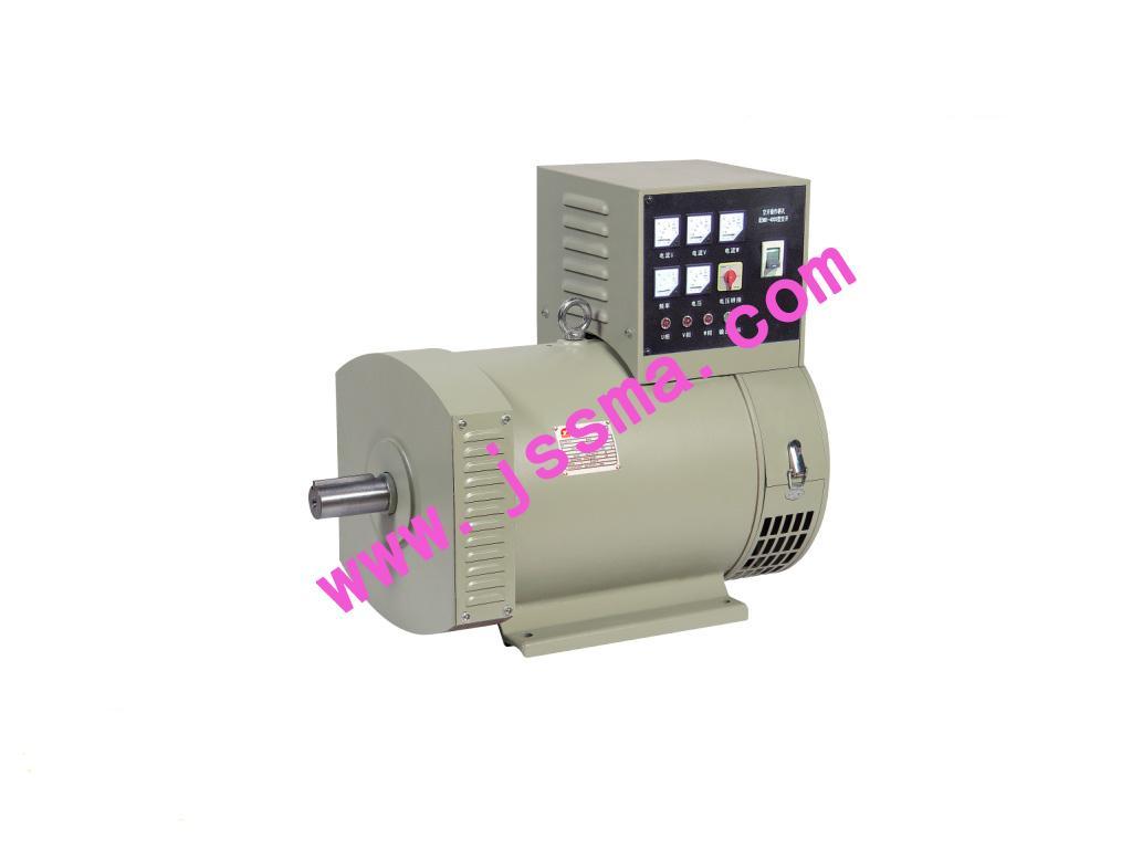发电机接线盒装有avr自动电压调节器和硅整流元件
