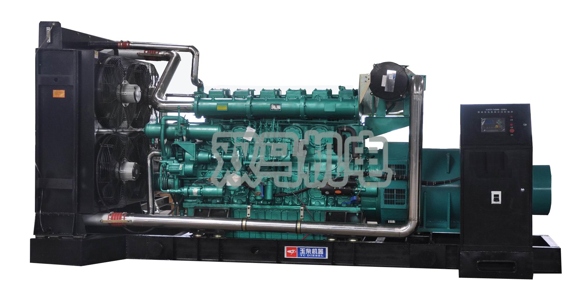 1000KW玉柴柴油发电机 柴油发电机价格 柴油汽油发电机组