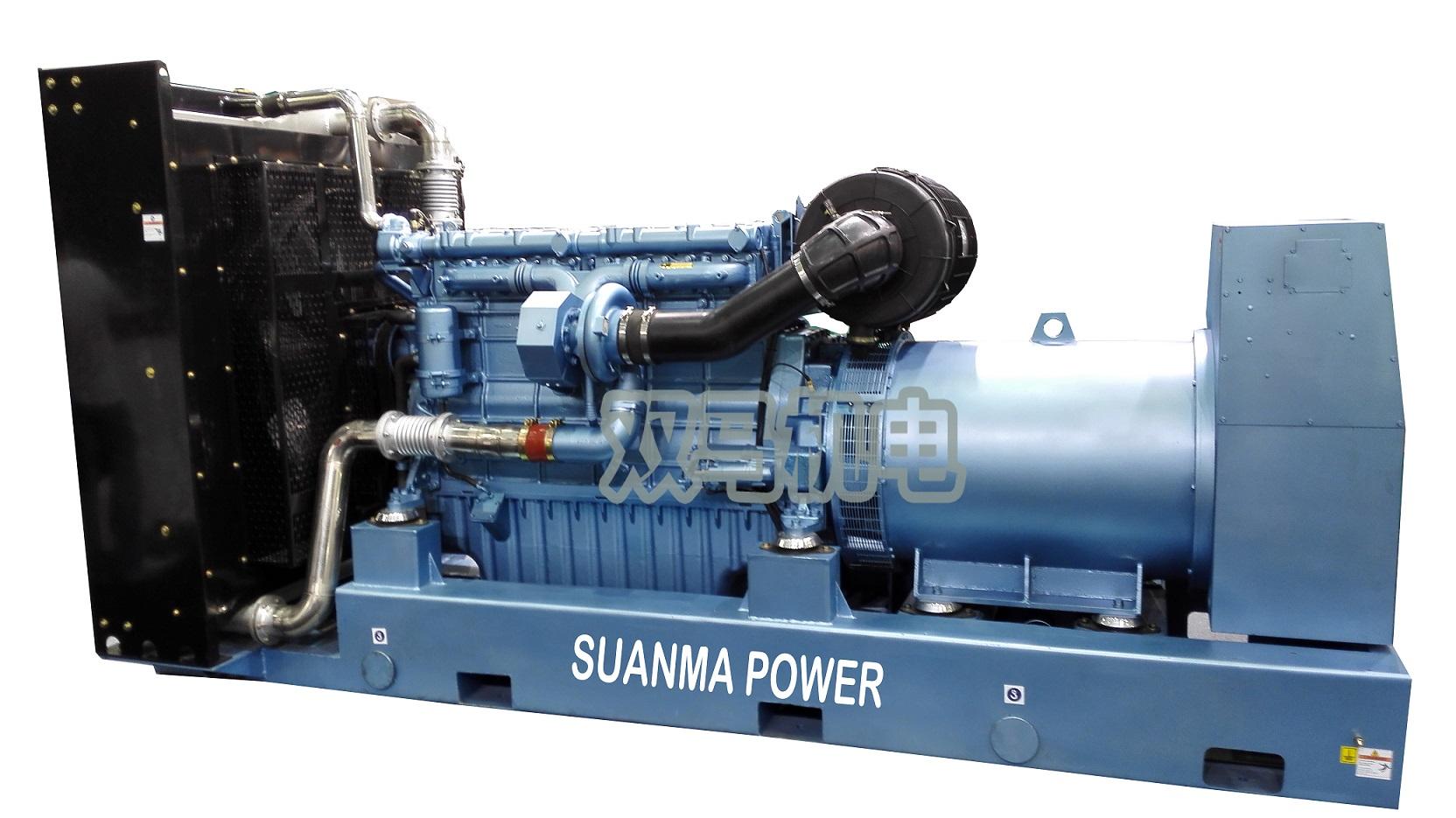 50kw潍柴动力发电机组